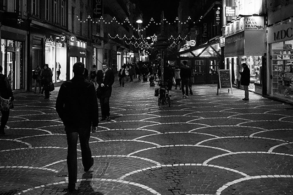La rue du Secrétaire Arembault à Lille